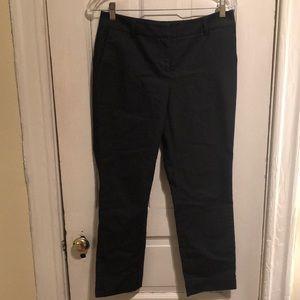 Halogen Size 2 Cropped Pants - Dark Navy Blend